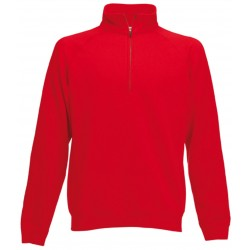 SC165 - SWEAT COL ZIPPE