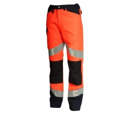 9082 - PANTALON HV FLUO TECH