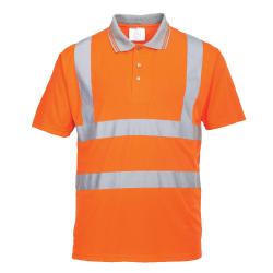 RT22 - POLO HI-VIS  ORANGE